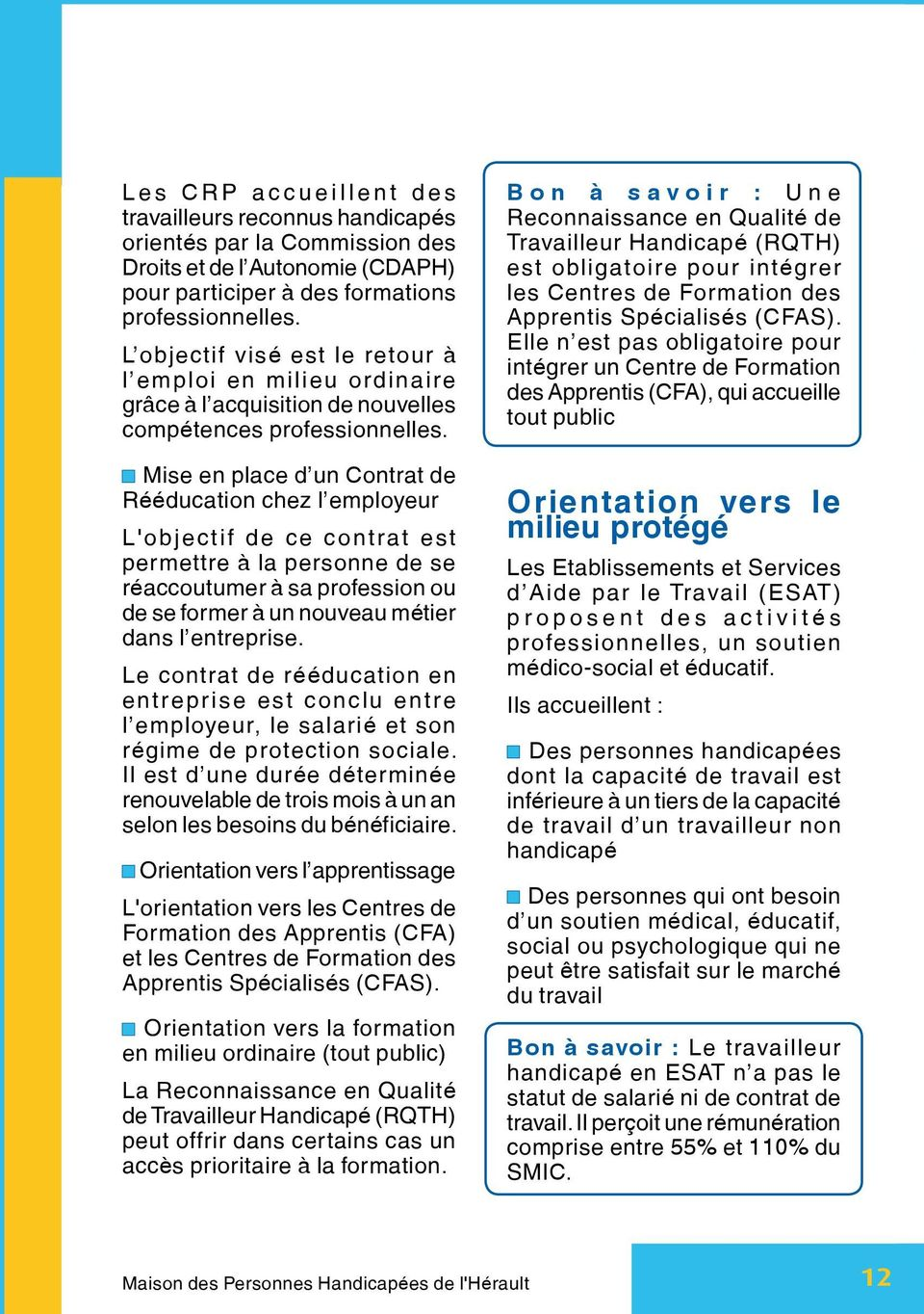 guide  d orientation  pour l insertion professionnelle des