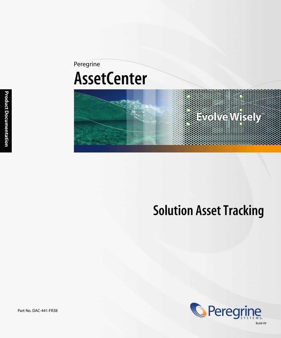 Solution Asset Tracking