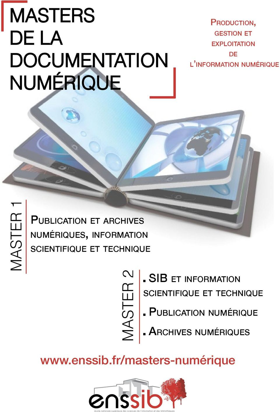 information scientifique et technique MASTER 2 SIB et information