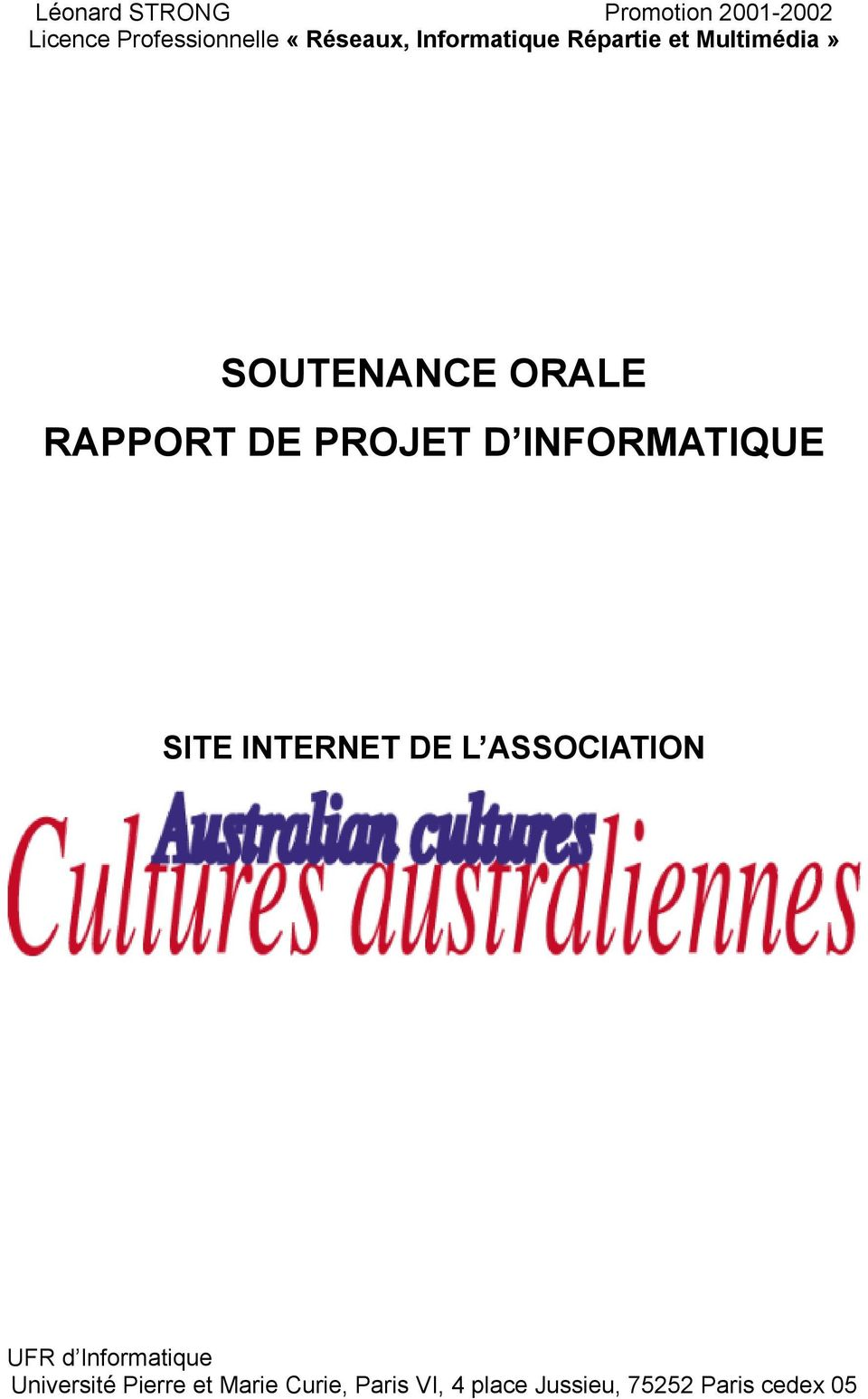 INFORMATIQUE SITE