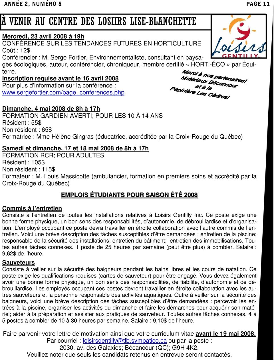 L Echo De Mon Clocher Pdf