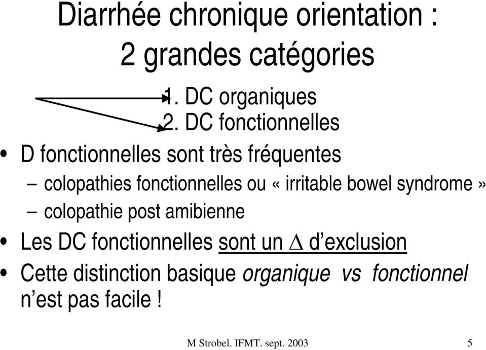 Diarrhée Chronique Tropicale: Parasitoses, Malabsorptions, Sprue ...