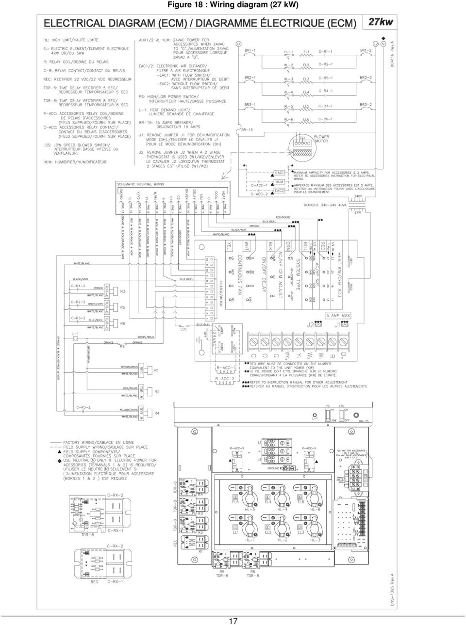 Multi Position Variable Speed Blower Motor Ecm Sup15 E230v1 Sup18 Mins Wiring Diagram 18 Ac Hp Size Adjustment Blue Wire A C Ts Table 3 Electric Furnace Sup Air Flow Tables Cfm Adjust Black