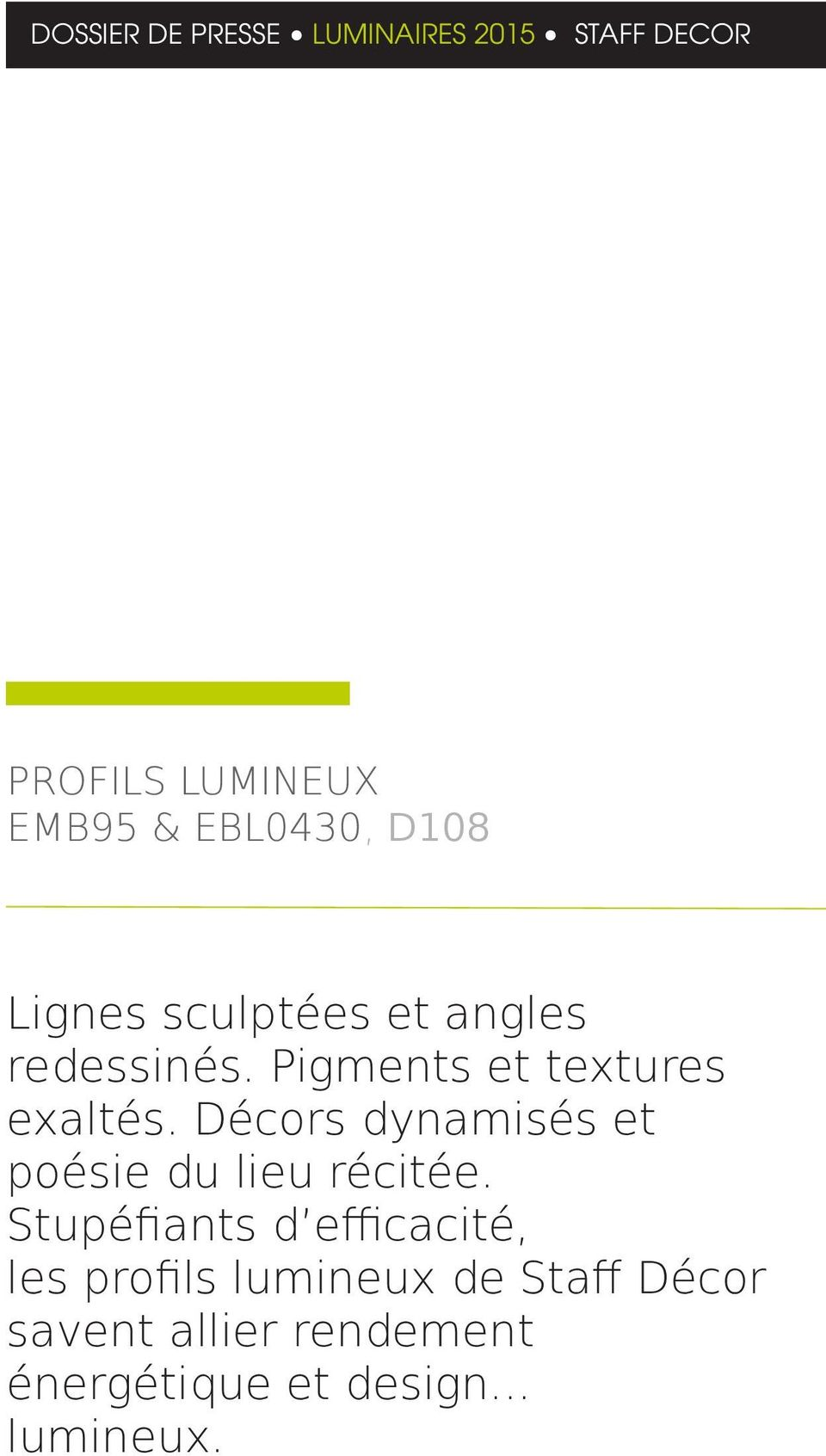 Presse Catalogue Luminaires Decor Pdf De Staff Dossier ...