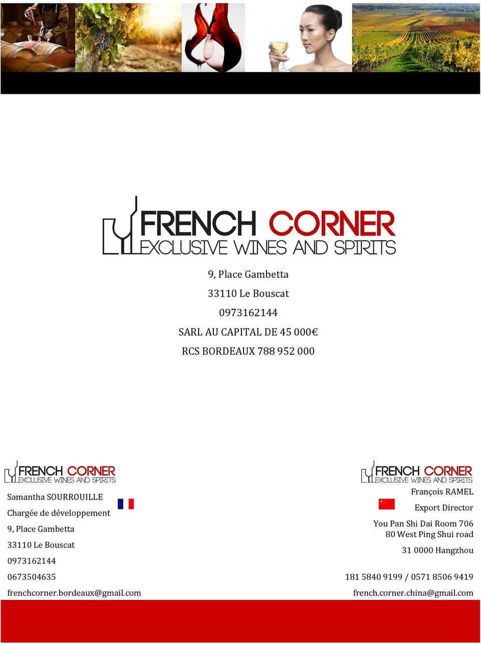 0673504635 frenchcorner.bordeaux@gmail.