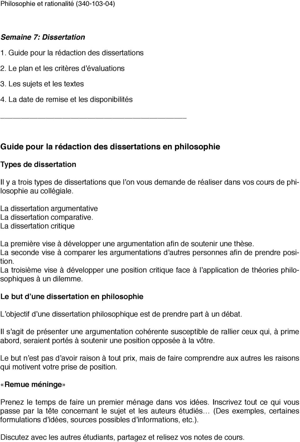 Types sujets dissertation philosophique example of research paper with sources