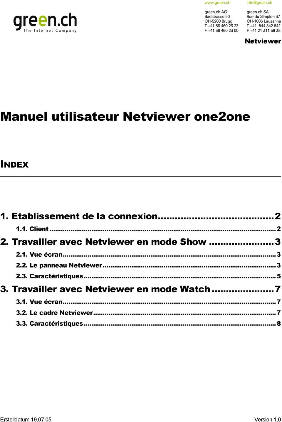 NETVIEWER ONE2ONE TÉLÉCHARGER