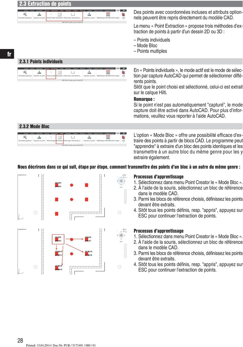 PC Software Point Creator for AutoCAD - PDF