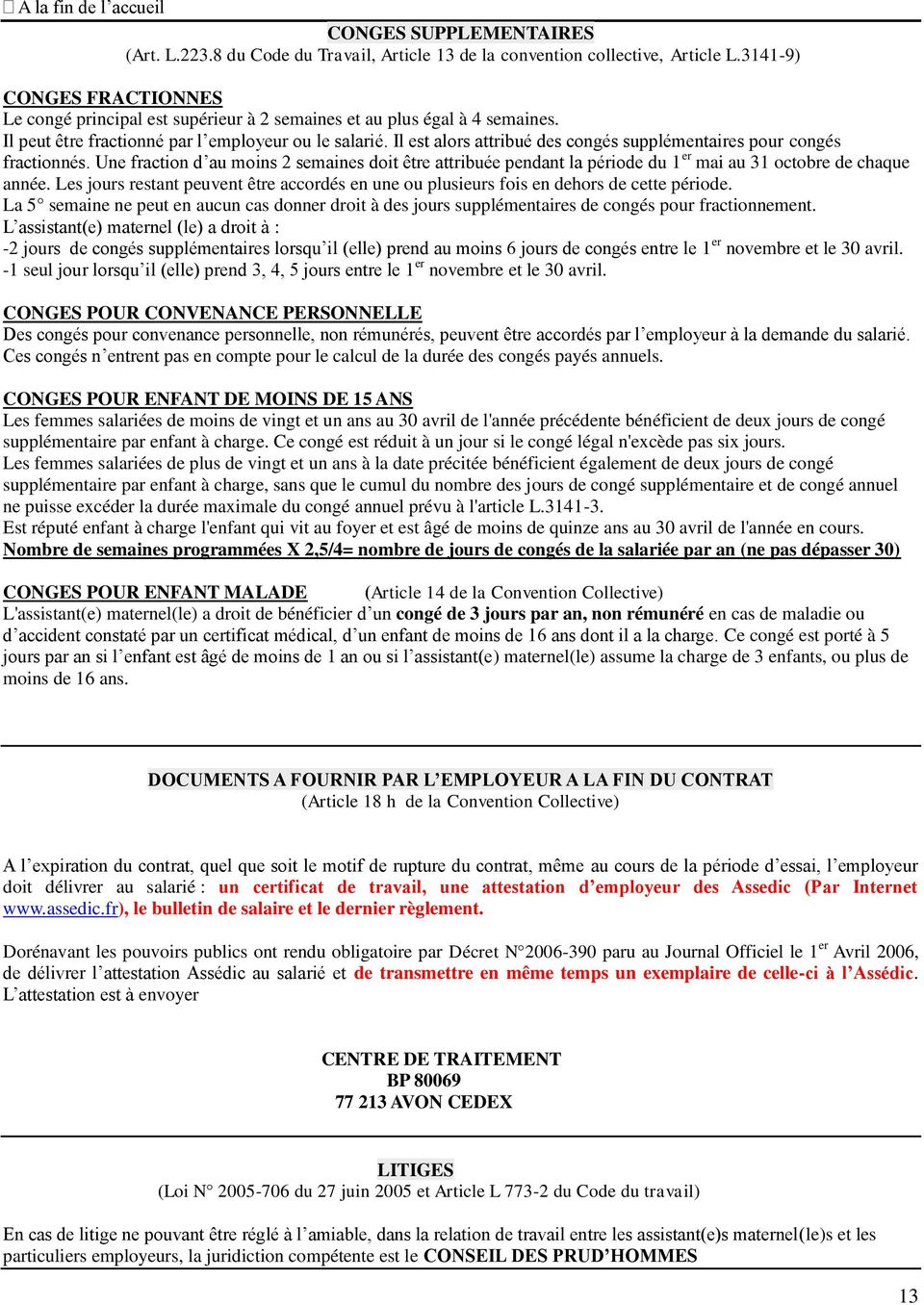 Contrat De Travail A Duree Determinee Ou Occasionnel Pdf