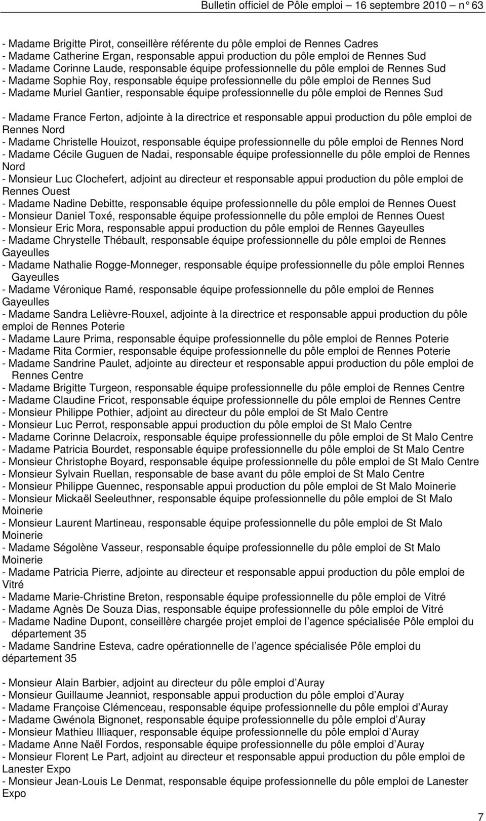 Bulletin Officiel De Pole Emploi Pdf