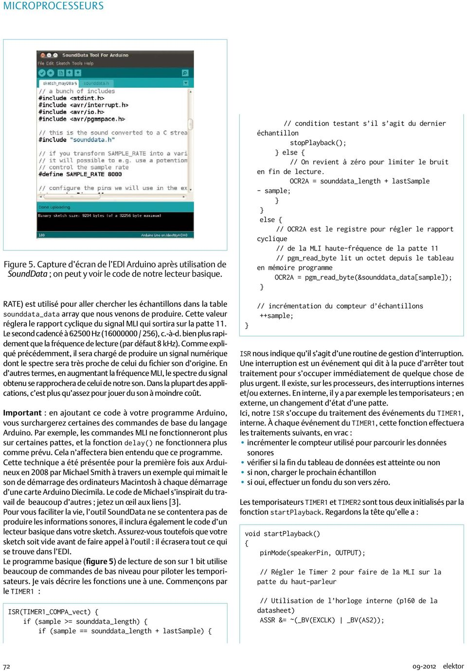 Compilation Arduino Tous Les Articles Parus Dans Elektor 249 Pages Pdf One Lead To The Led39s Cathode And Other Top Rail Cette Valeur Rglera Le Rapport Cyclique Du Signal Mli Qui Sortira Sur La Patte 11