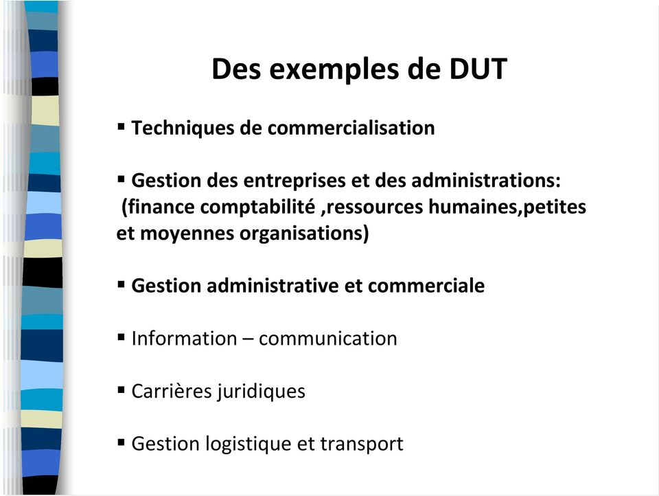 humaines,petites et moyennes organisations) Gestion administrative et