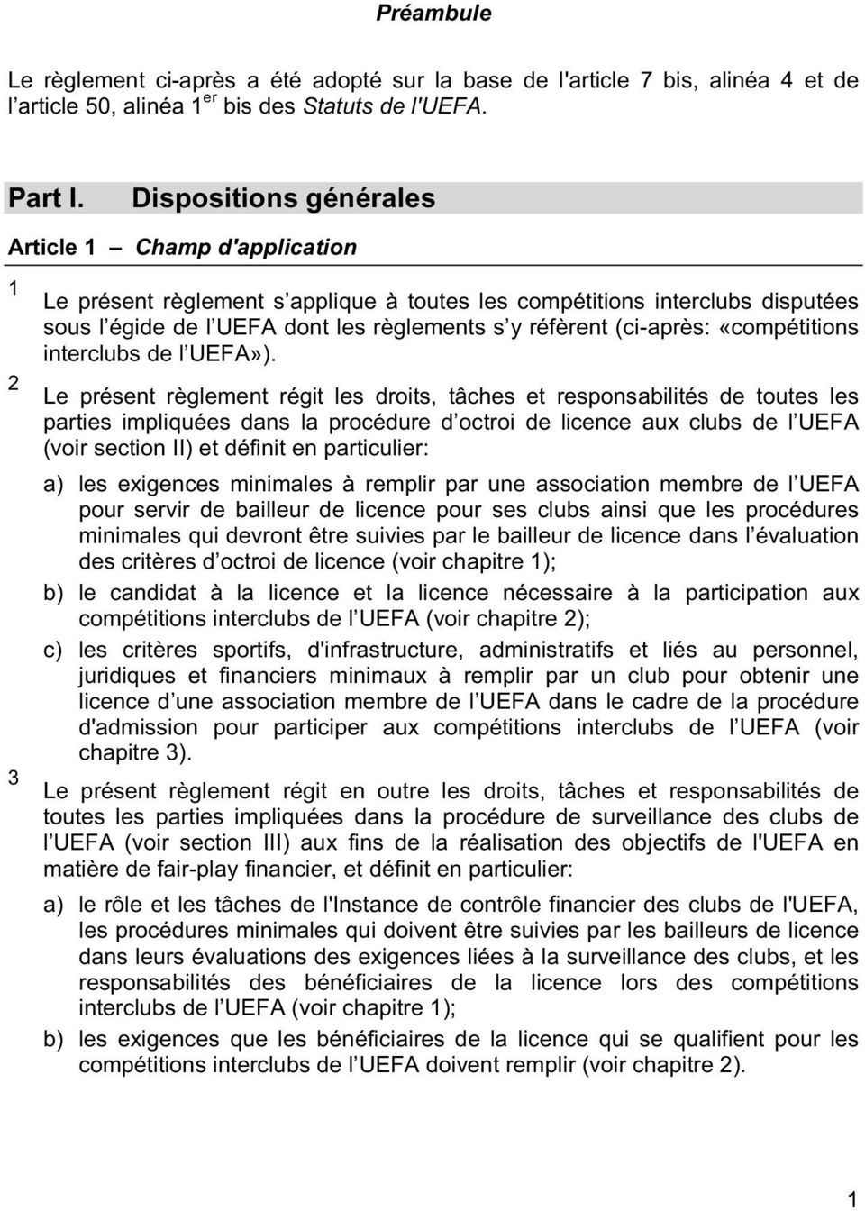 «compétitions interclubs l UEFA»).