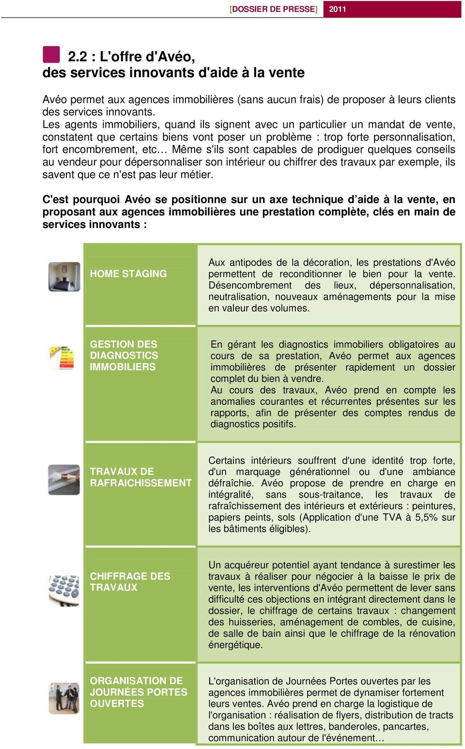 Exemple Devis Home Staging contact presse : infinités communication - pdf free download