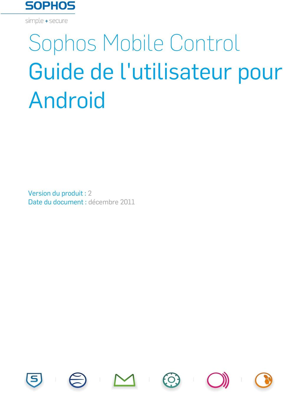 Android Version du produit :