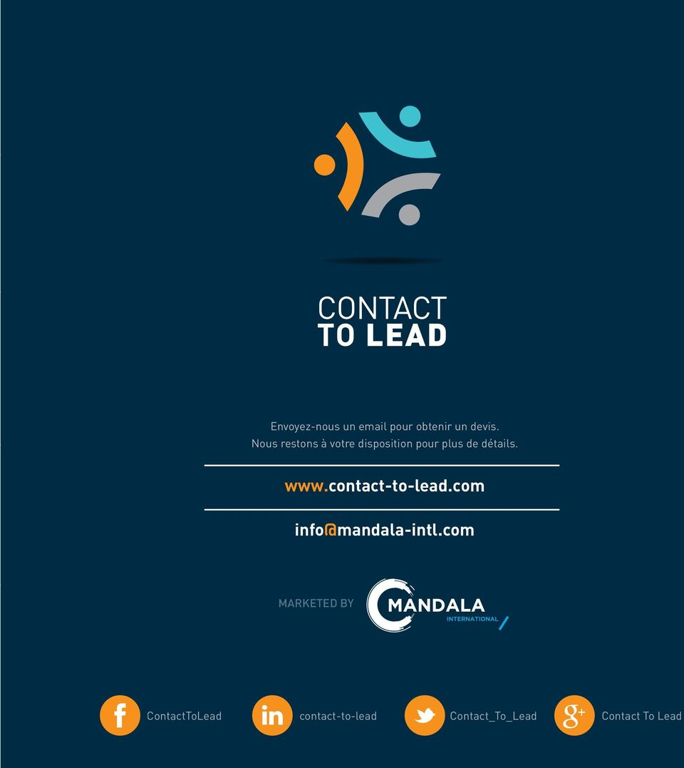 contact-to-lead.com info@mandala-intl.