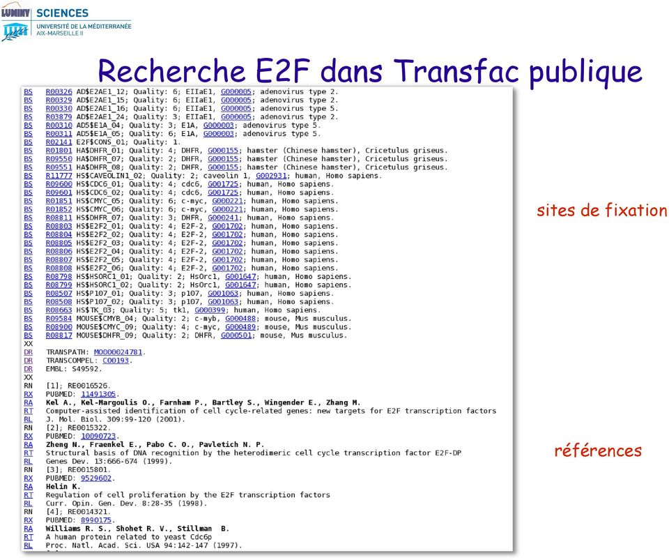 publique sites