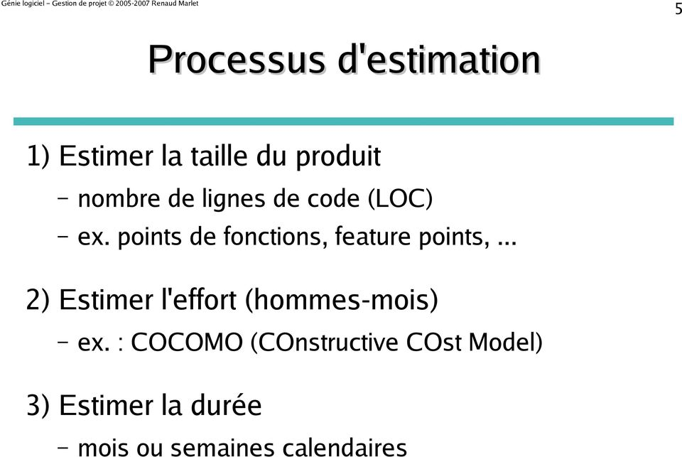 points de fonctions, feature points,.