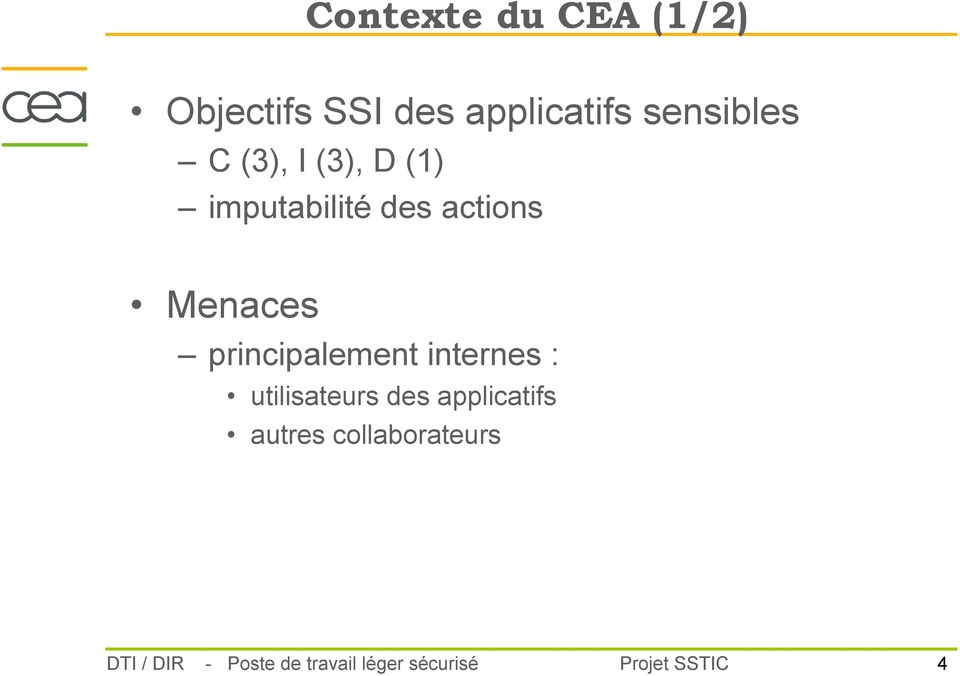 Déploiement d application de traitement d informations sensibles