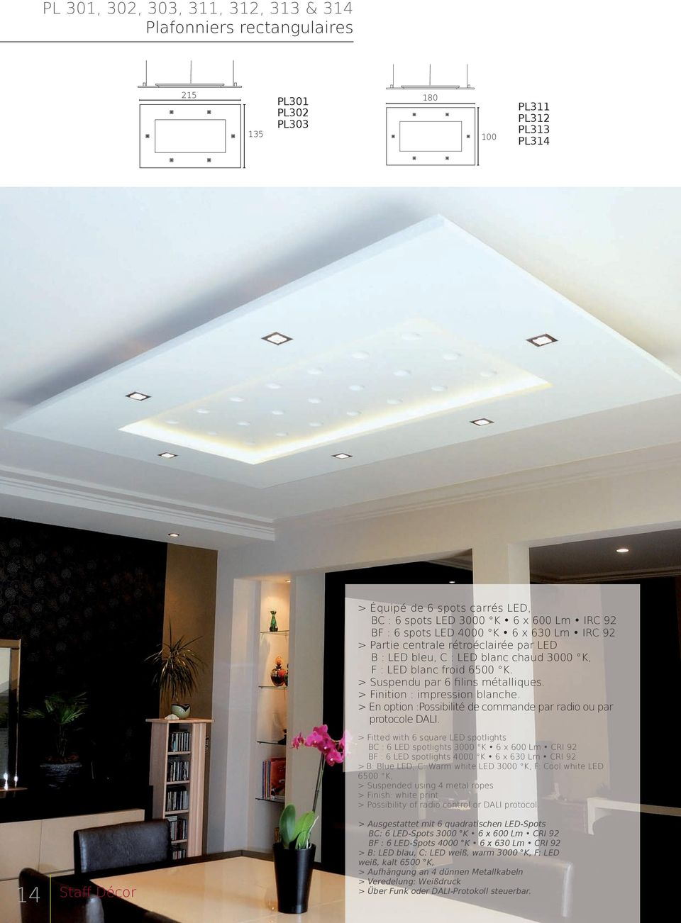 STAFF DECOR COLLECTION LUMINAIRES. Lighting collection ...