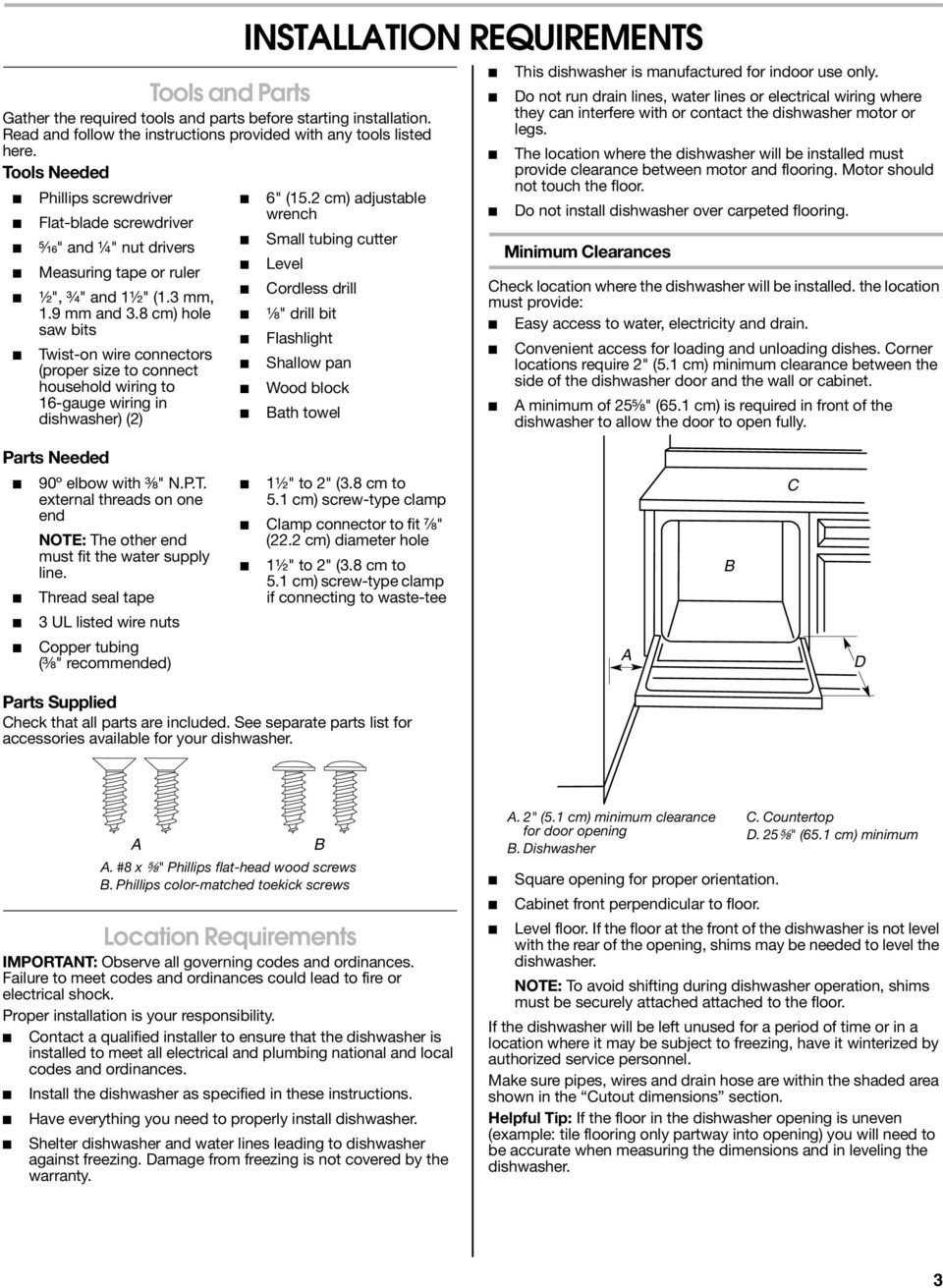 Pleasant Undercounter Dishwasher Installation Instructions Instructions D Wiring Cloud Usnesfoxcilixyz