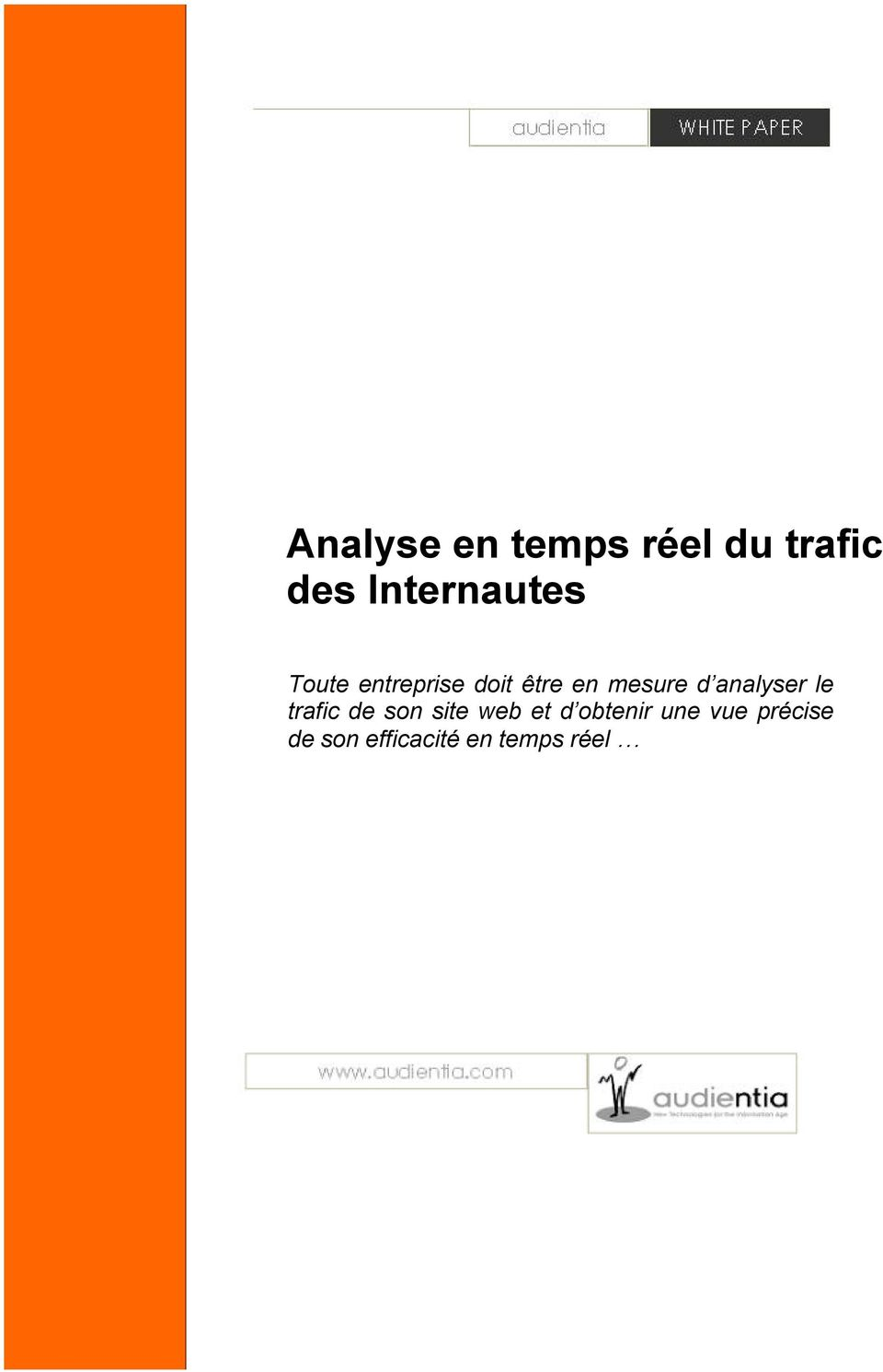 mesure d analyser le trafic de son site web