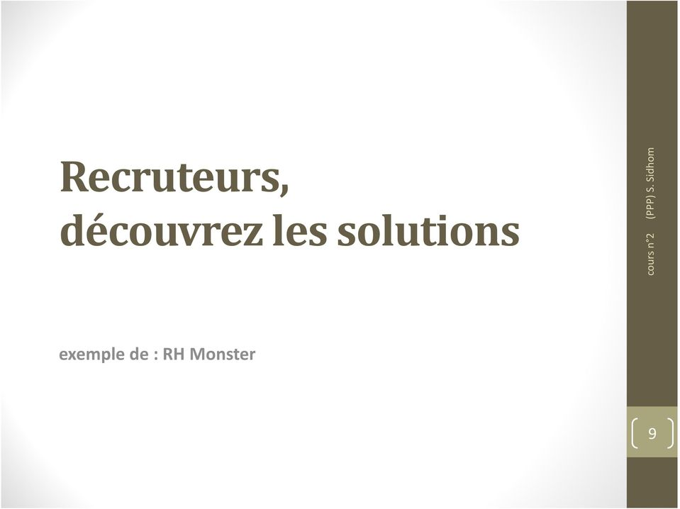 solutions exemple