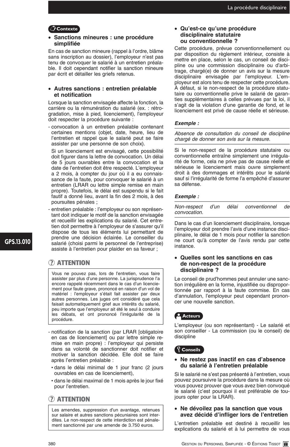 La Procedure Disciplinaire Pdf