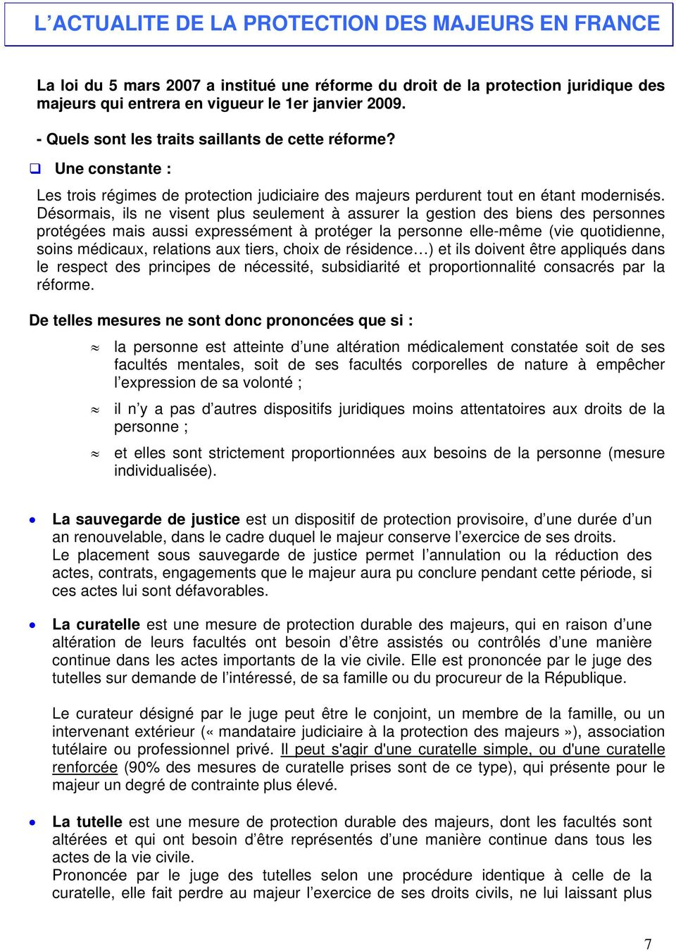 La Protection Internationale Des Majeurs Vulnerables Pdf