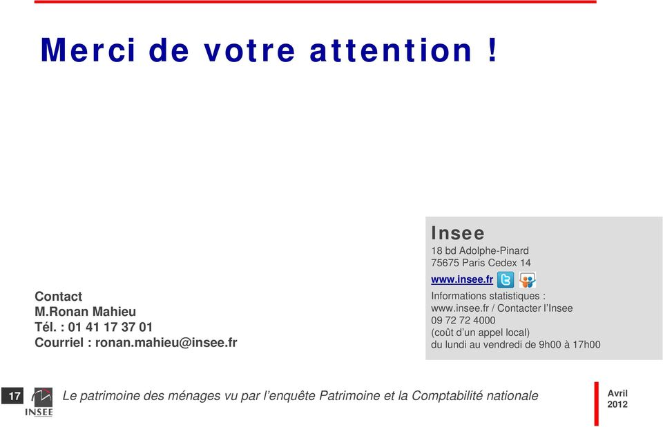 fr Insee 18 bd Adolphe-Pinard 75675 Paris Cedex 14 www.insee.