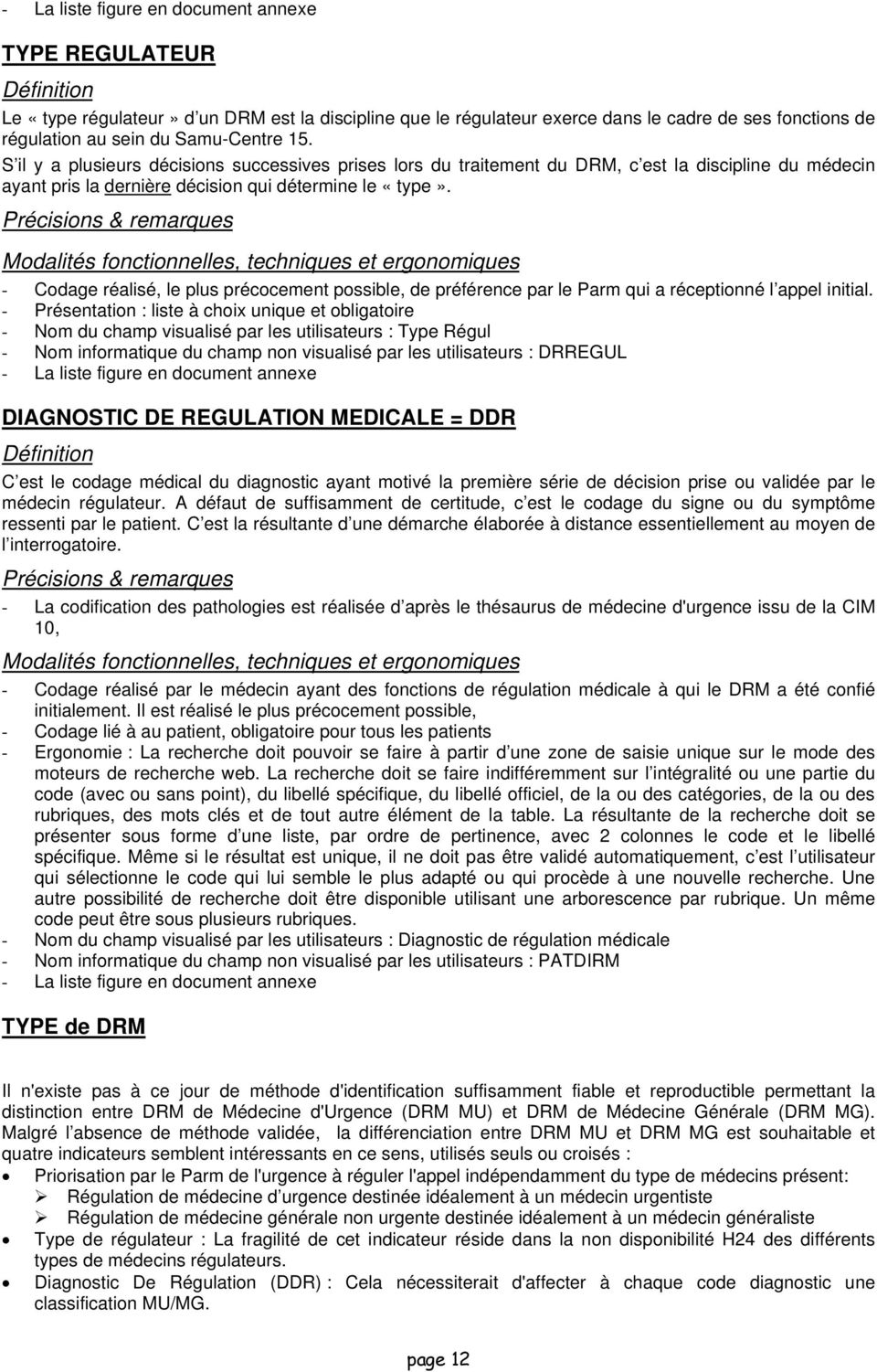 Activite Des Samu Centre 15 Definitions Standardisation Des