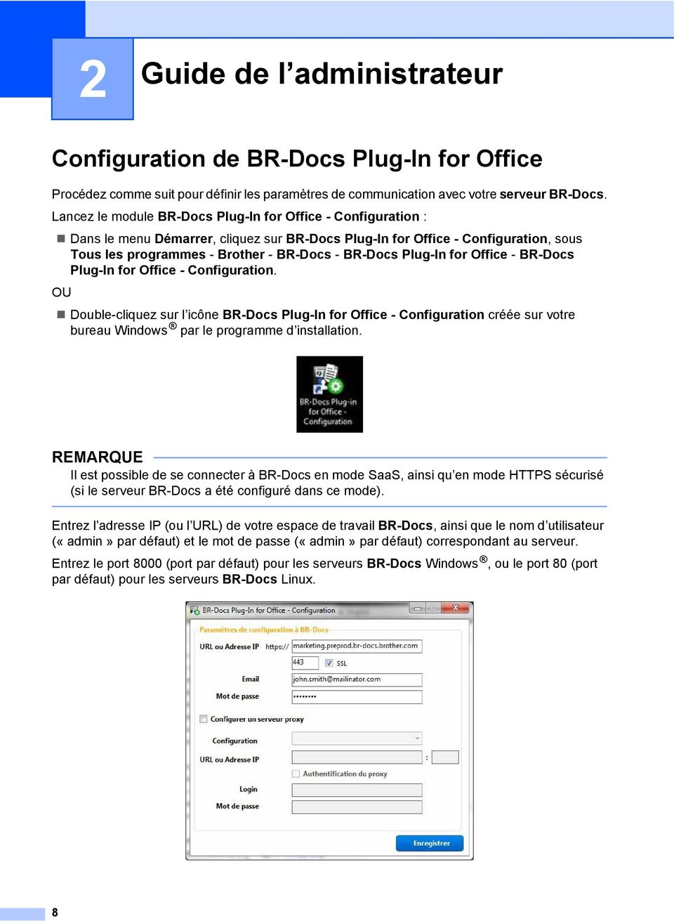 Plug-In for Office - BR-Docs Plug-In for Office - Configuration.