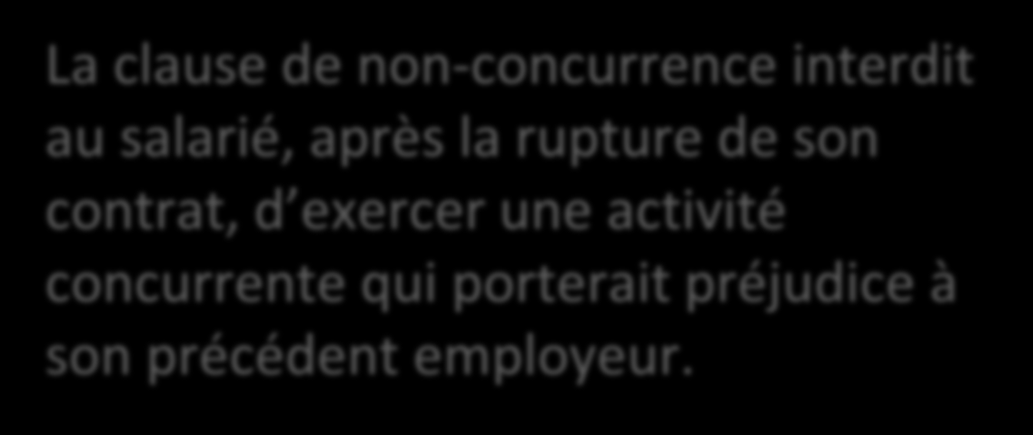 Les Clauses Particulieres Non Concurrence Mobilite Pdf
