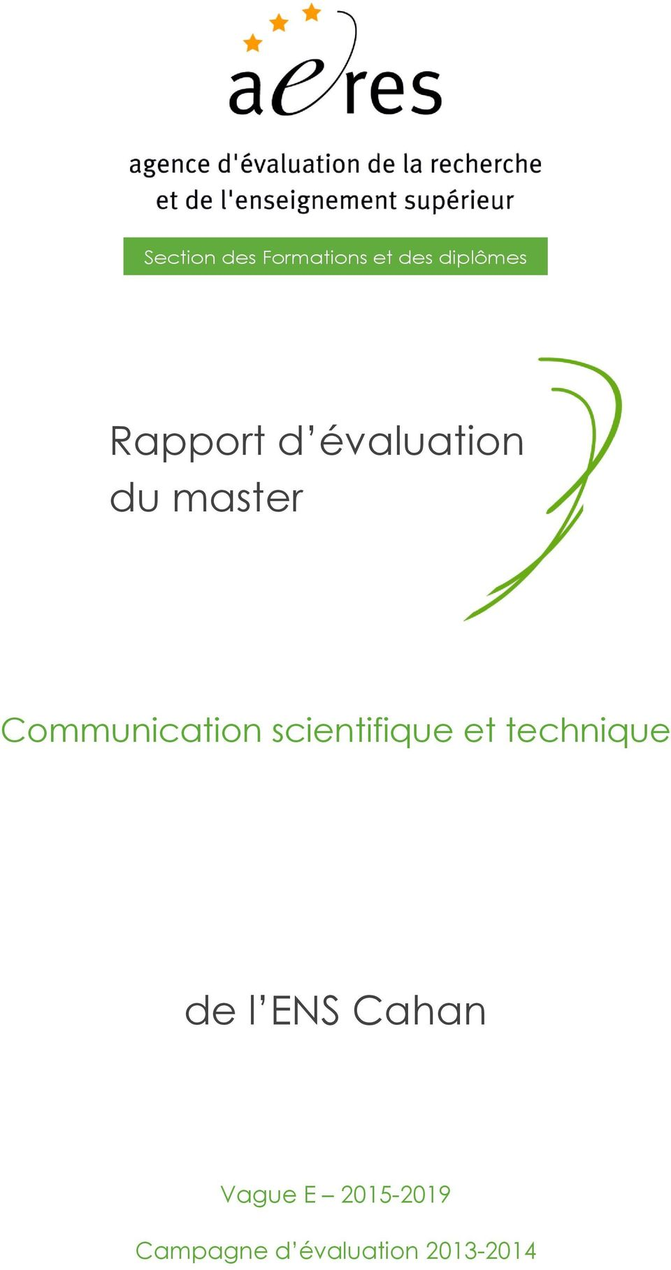 Communication scientifique et technique de