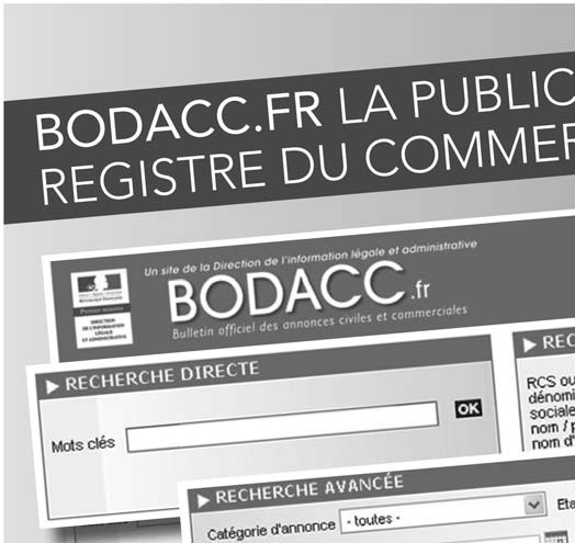BODACC BULLETIN OFFICIEL DES ANNEXÉ AU JOURNAL OFFICIEL DE LA RÉPUBLIQUE  FRANÇAISE BODACC C. Modifications diverses - Radiations. - PDF 260359f202347
