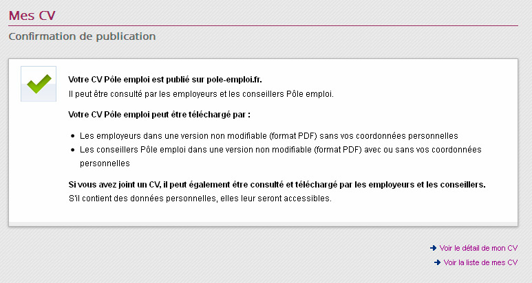 Kit Mini Atelier Service Cv Pole Emploi Pdf Free Download