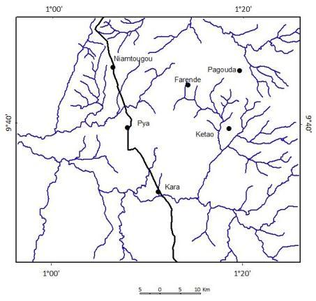 Use Of Alos And Landsat Data For Mapping And Analysis Of Lineament