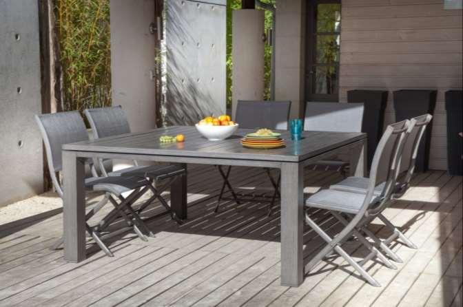 Les tables de jardin. Collection 2014 Aluminium. - PDF