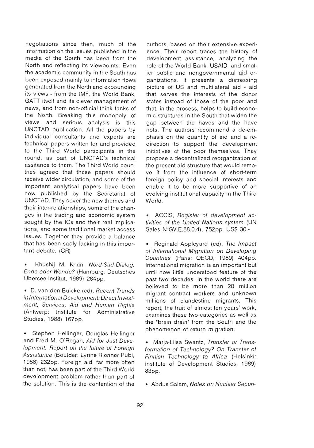 ifda dossier 73 Editorial Local space Espace regional Global space
