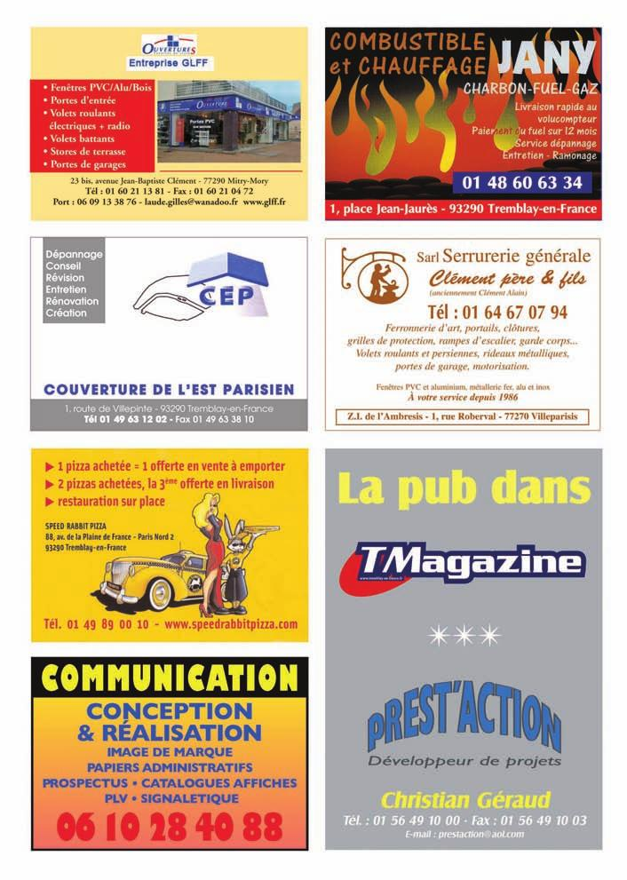 De Tremblay En France N Municipal Informations Locales Magazine D IHD2WE9Y