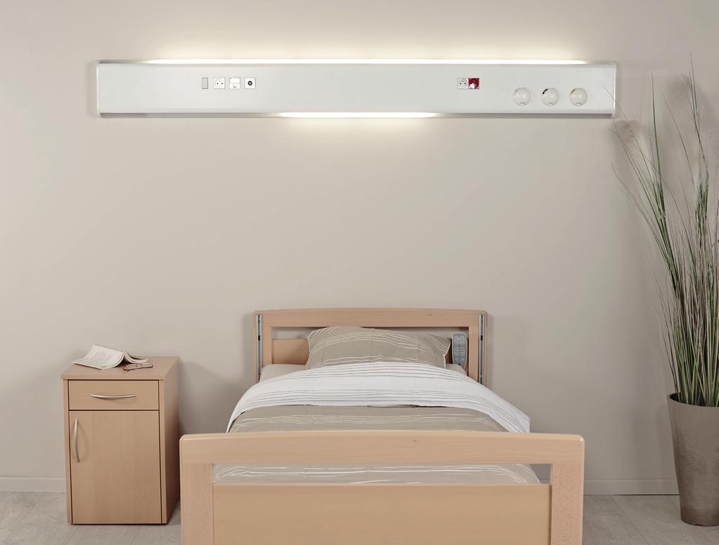 Dynamic Lighting FLUIDYS LED  Normal care / Horizontal bed