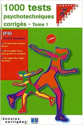 1000 Tests Psychotechniques Corriges Tome 1 Telecharger Lire Pdf Pdf Free Download